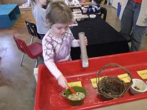 assembling a rainstick