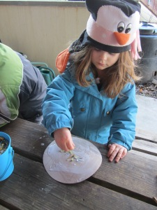making our moon