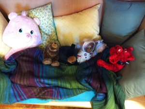 shh...our bears are resting