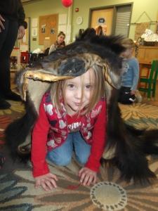 she's a bear!