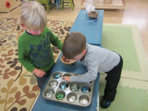 ice and crystal sorting game