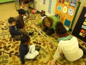 measuring snake skin